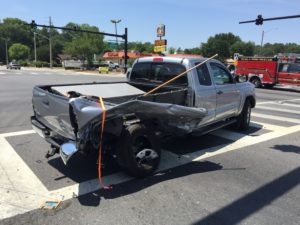 accident on MLK Jr Ave in Ocala